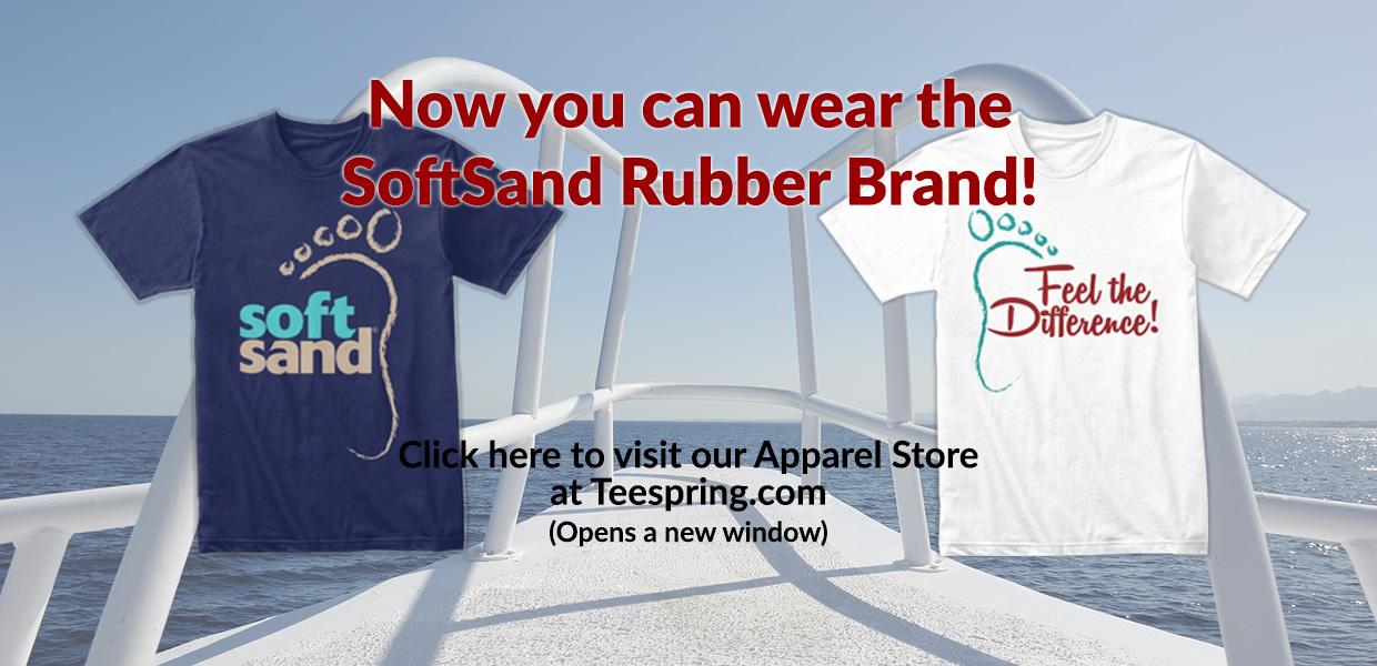 Now you can wear the SoftSand Brand!